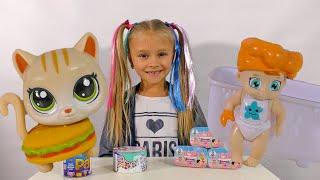 СЮРПРИЗЫ для Ярославы! Игрушки и Пупсы с СЕКРЕТОМ! Littlest Pet Shop Surprise Blind Bags