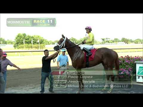 video thumbnail for MONMOUTH PARK 7-27-19 RACE 11