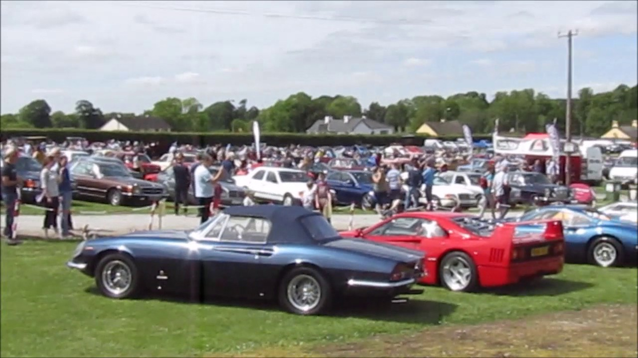Limerick Classic Vintage Car Motorcycle Show YouTube - Classic pony car shows