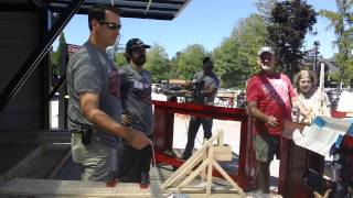 Rob Riggle Pulls The Trigger On A Trebuchet
