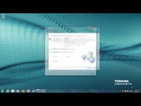 Toshiba How-To: Connecting to a Wi-Fi network using Windows 7