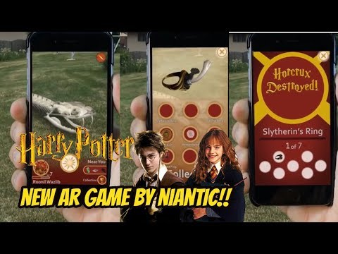 Download Youtube: Harry Potter Wizards Unite New AR Game by Niantic After Pokemon Go