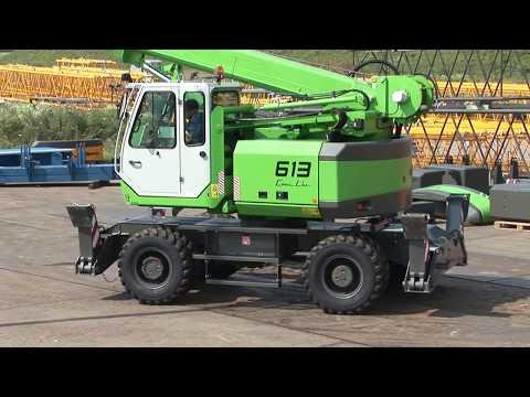 SENNEBOGEN - Lifting works: 613 Mobile Telescopic Crane