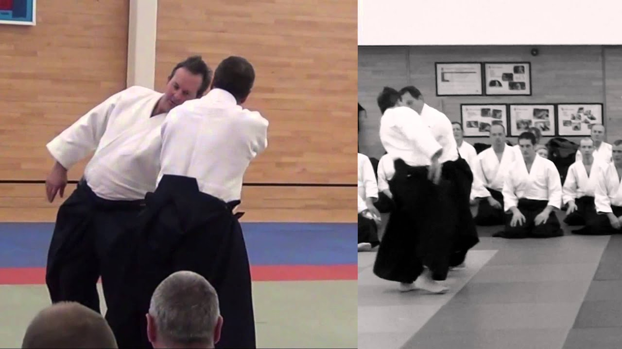 Excellent Aikido - Anticipation Christian Tissier Shihan 1