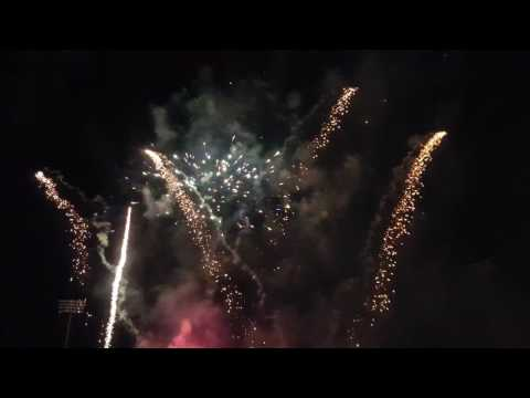 Hove Cricket, Central County Ground fireworks part 2  4K