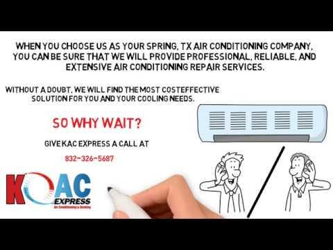 Kac Express Leading Ac Repair Service In Spring Tx