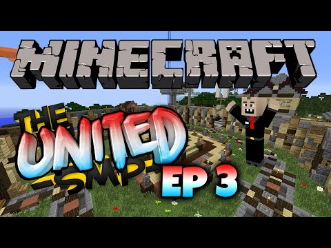 United SMP Ep 3 - House Building