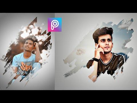 PicsArt Creative Photo Editing | Picsart Brush Effect  Photo Editing | Photo Editing In Android