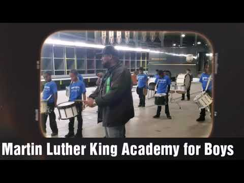 Our  DRUMLINE Students of Martin Luther King Academy for Boys Perform at UPS..