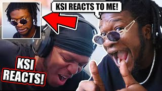 KSI REACTED TO MY CAP REACTION!