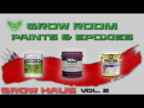 Grow HauS vol. 2 : Performance Light Reflecting Grow Room Coatings