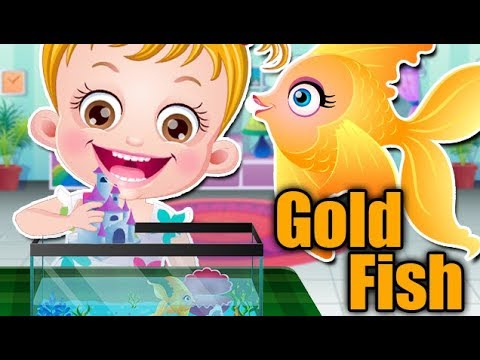 Baby Hazel Pet Care Games | Kids Learn Goldfish And Puppy Care | Pet Movies By Baby Hazel Games