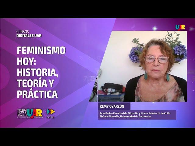 Curso Feminismo hoy [Semana 2] Entrevista Kemy Oyarzún