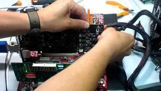 Ремонт видеокарты. Замена основного чипа!(Решил снять видео по ремонту видеокарт. В данном случае на операционном столе находится видеокарта ATI Radeon..., 2013-06-01T08:30:35.000Z)