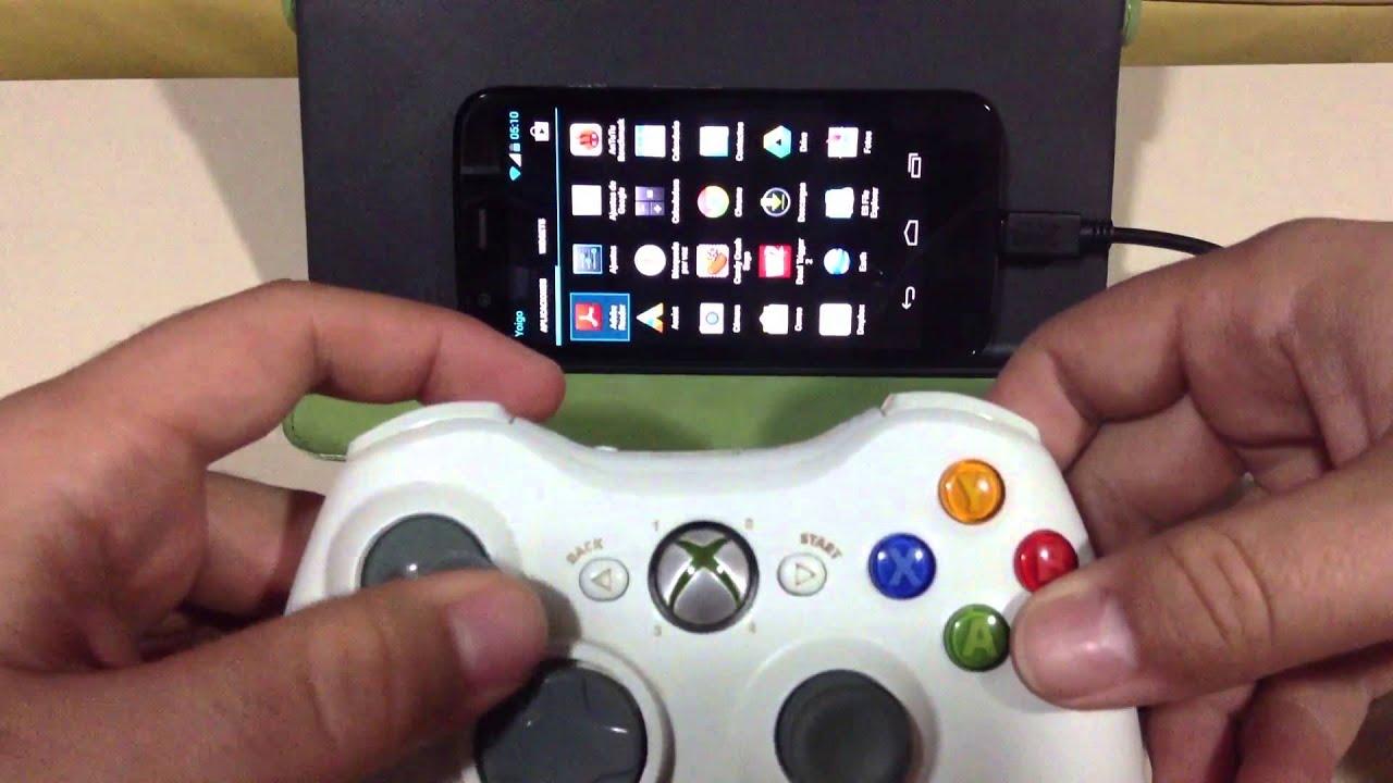 Jugando con el mando de xbox 360 en el moto g youtube for Sillas para jugar xbox