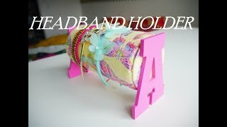 DIY | HOW TO ORGANIZE KIDS HAIRBAND -HAIR ACCESSORIES HOLDER | Recycling cardboard