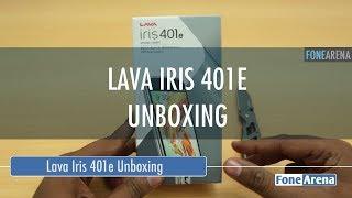 Lava Iris 401e Unboxing