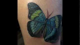 Butterfly by siC tattoo | 2012