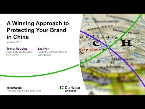 A Winning Approach to Protecting Your Brand in China