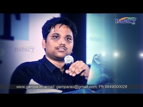 how to earn money through internet by Sai Satish at Hyderabad IMPACT 2014