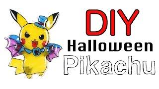 Watch me Shrink Plastic: DIY Halloween 2016 Pikachu