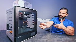 طابعة ثلاثية الأبعاد 3D  || أول مرة أجرب !