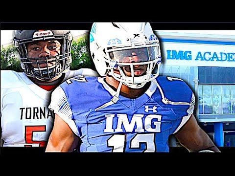 IMG Football Academy | # 4 In The NATION | Vs Booker T. Washington (Miami,FL) 🔥🔥