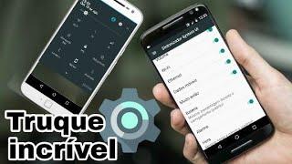 Truque escondido que vai permitir abrir várias funções no celular (Motorola)