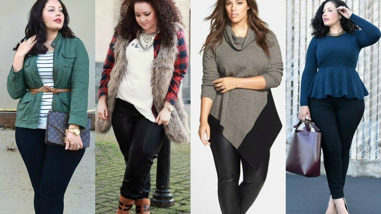 6e80c10b870 Fall 2017   Winter 2018 Plus Size and Curvy Outfit Ideas. PLUS SIZE FASHION