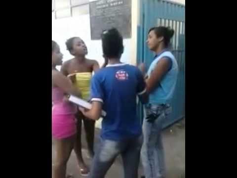 ( Potegaste HD ) BRIGA DE ADOLESCENTE POR CAUSA DE NAMORADO