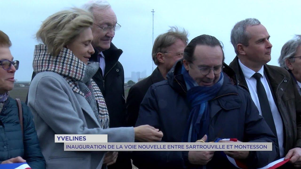 Yvelines | Circulation : inauguration de la voie nouvelle Sartrouville et Montesson