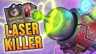 LASER KILLER - Control Warrior | Rise of Shadows | Hearthstone