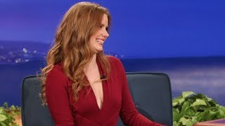 Amy Adams Interview Part 01 - Conan on TBS
