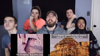 The 5 Most Mysterious Temples REACTION!!