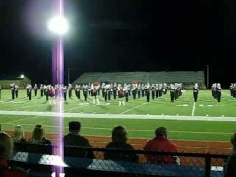 Franklin Area High School - Black Knight Marching Band (9-14-2013)