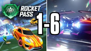 Every Rocket Pass Trailer 1-6 (Rocket League)