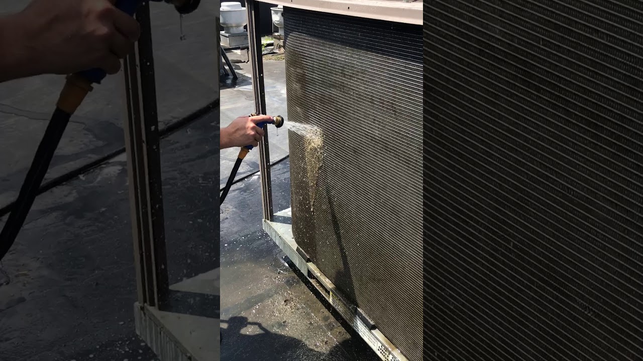 How To Clean A Condenser Coil On Commercial Ac Unit