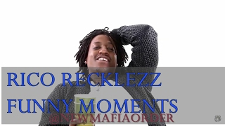Rico Recklezz - FUNNY MOMENTS | IMPOSSIBLE NOT TO LAUGH