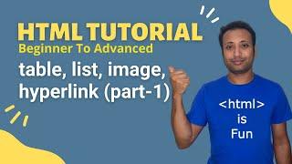 HSC ICT-L4.43 html table, list, image, hyperlink  bangla tutorial (part-1)
