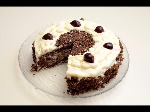 Торт с вишней рецепт с фото пошагово в домашних условиях ...
