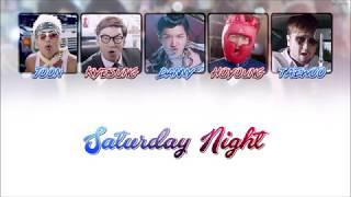g.o.d (지오디) - Saturday Night [ Color Coded Lyrics ]