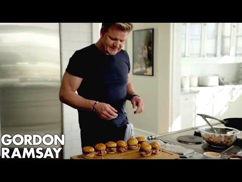 Gordon Ramsay's Pork Butt Sliders