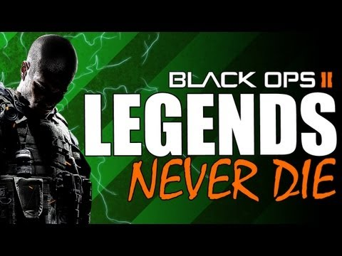 Black Ops 2 :: Legends Never Die :: Flawless TDM on Drone (BO2 Multiplayer)