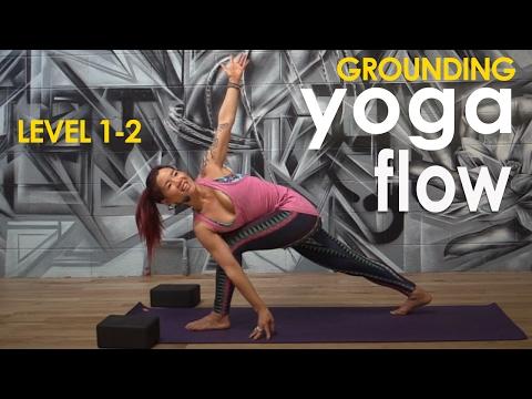 Yoga Workout ~ Grounding Flow with Evangeline Yeun