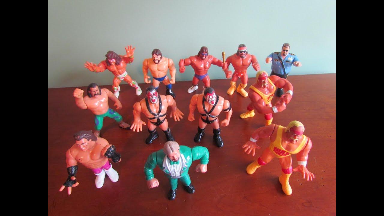 infomation Vintage wrestling figures