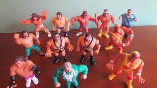 Vintage WWF WWE Hasbro Wrestling Action Figures Lot of 12 Hulk Hogan Ultimate Warrior
