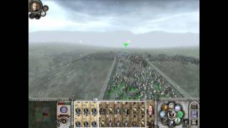 Medieval 2 Total War: Third Age: Crossing the Osgiliath Bridge