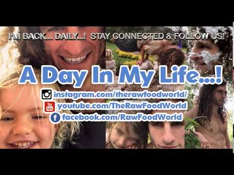 A Day In My Raw Food Life! - Episode 1