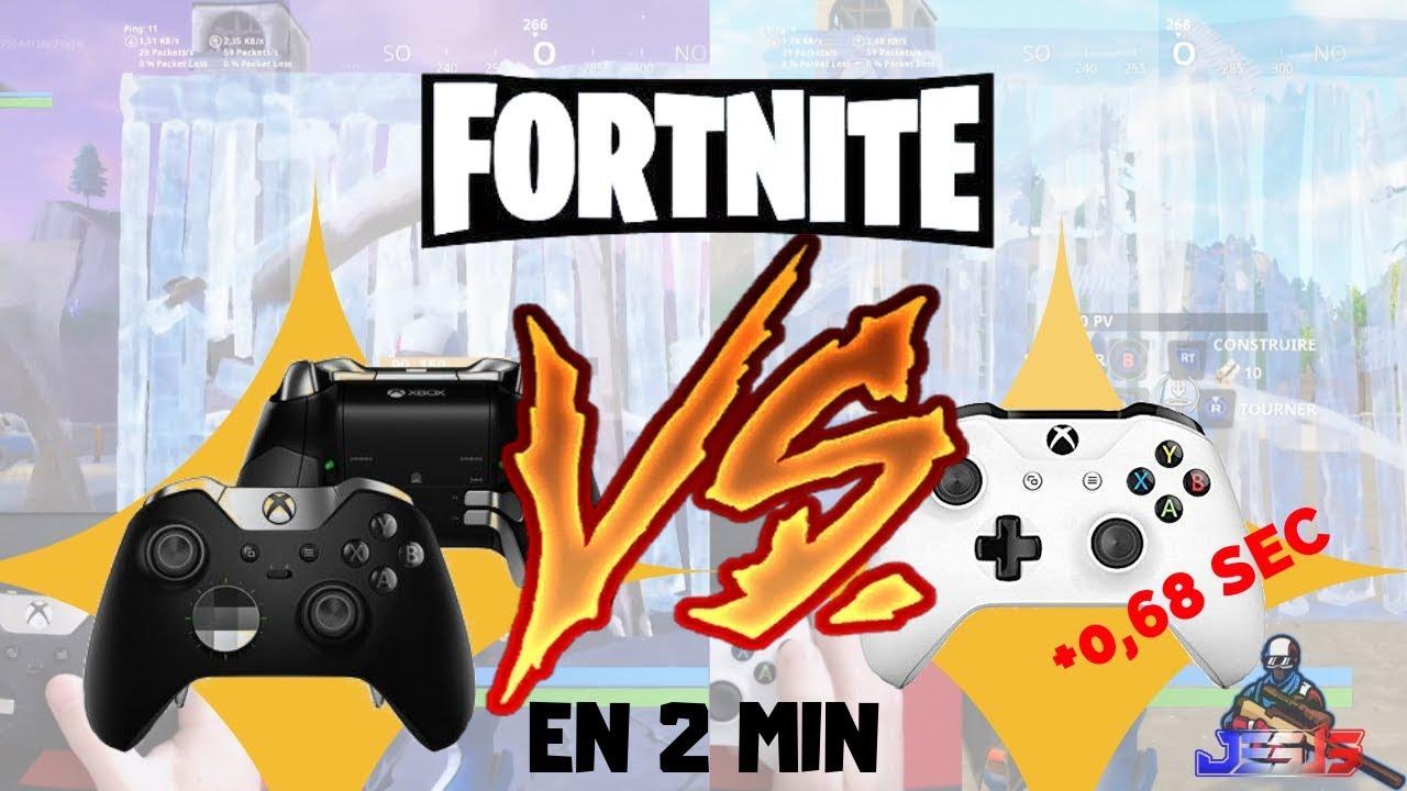 manette xbox one elite vs manette xbox one fortnite battle royale youtube