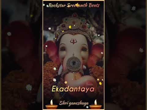 Download Gananayakaya ganadaivataya... //Shankar Mahadevan //Shri Ganpati song // What'sapp status beat//..